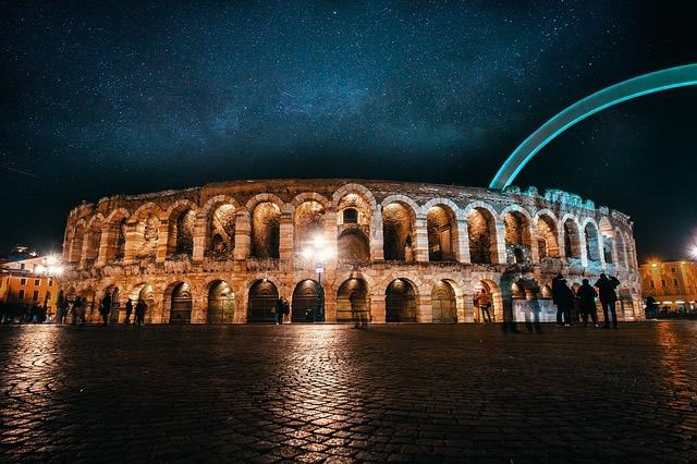 Opera en Arena de Verona