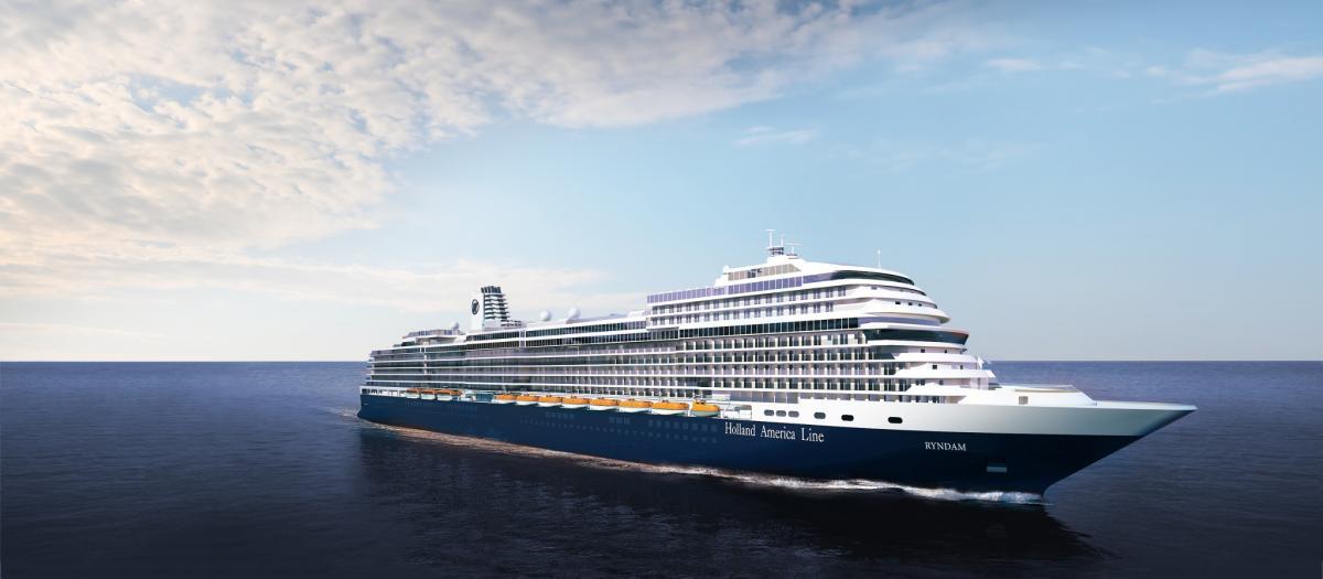 holland america renombra su nuevo barco