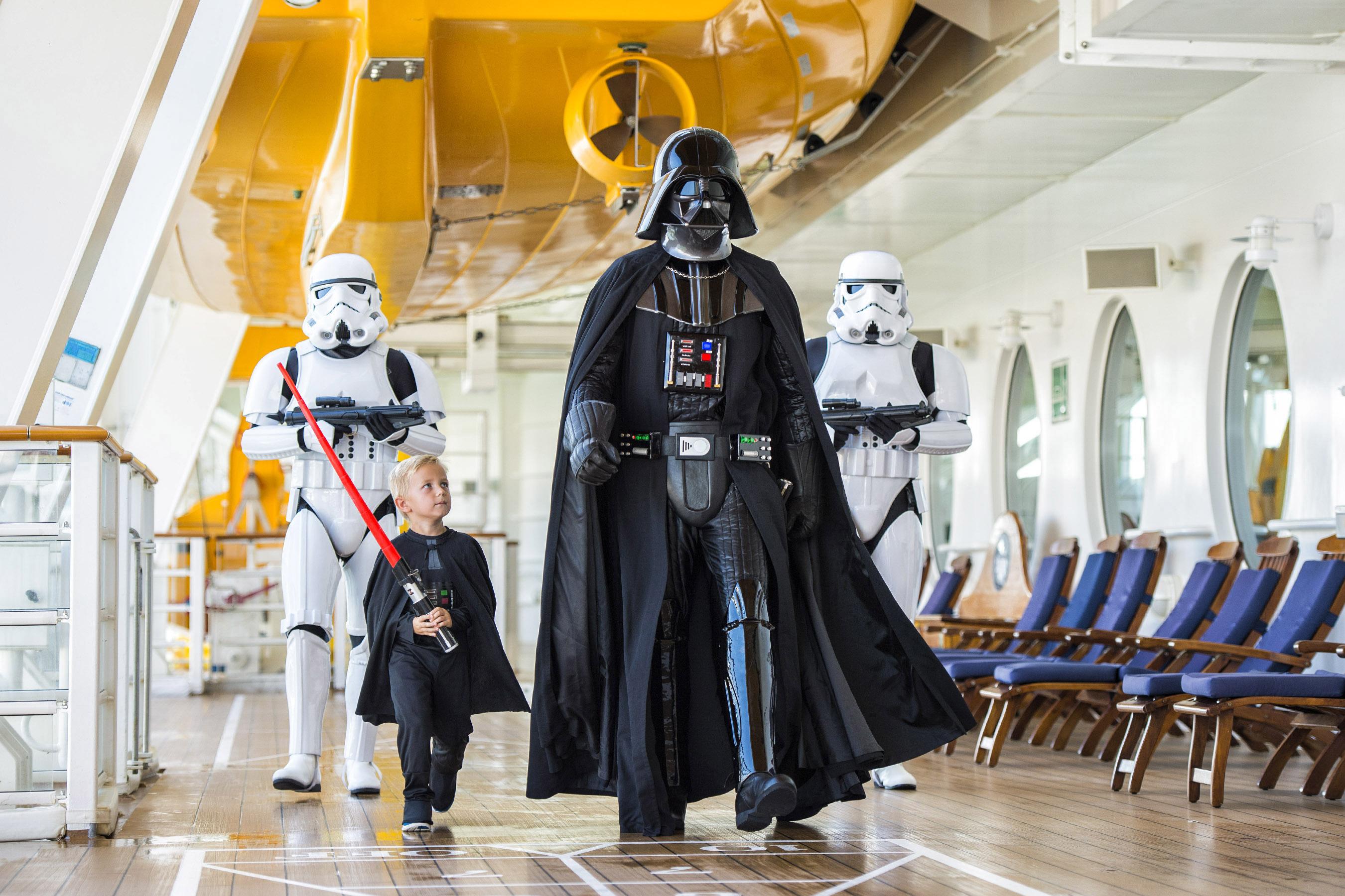 star wars disney un mundo de cruceros