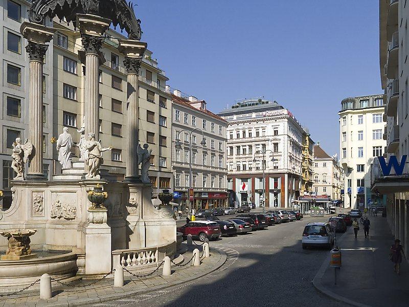 Plaza de Hoher Markt, Viena.  Crucero fluvial por Danubio Starclass