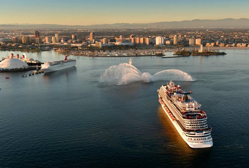 terminal de long beach carnival un mundo de cruceros
