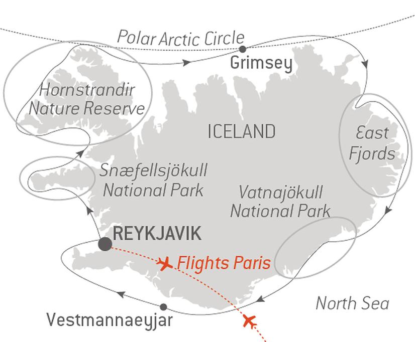 itinerario de Ponant por Islandia en verano 2020 un mundo de cruceros