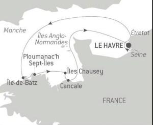 Crucero Ponant Un mundo de cruceros StarClass Desde Le Havre