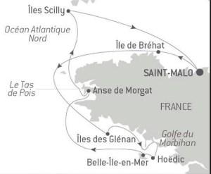 Crucero Ponant Un mundo de cruceros StarClass Desde St Malo