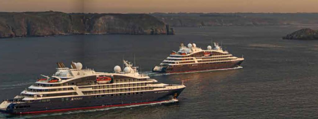 Ponant cruceros Un mundo de cruceros Francia verano 2020