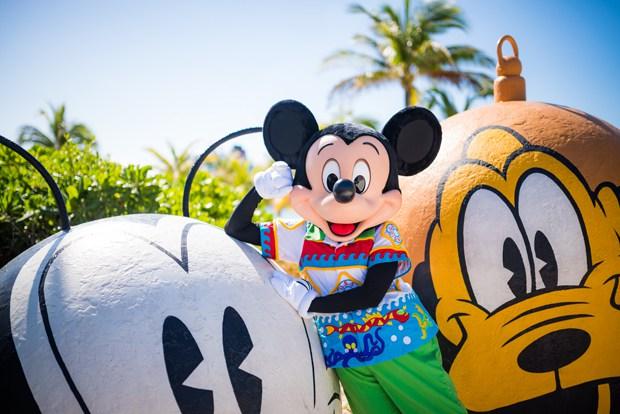 Mickey en Castaway.