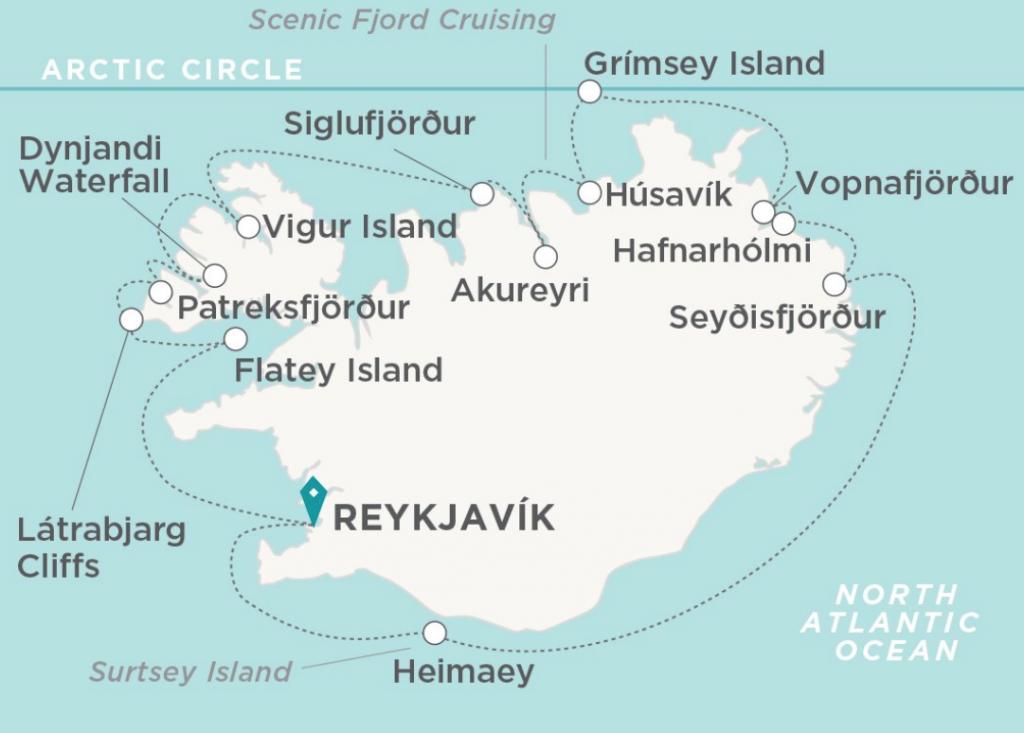 Itinerario por Islandia Crystal Endeavor