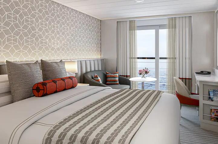 Suites y Camarotes a bordo del Vista